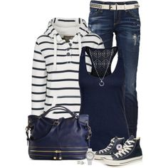 """Sporty Casual"" by immacherry on Polyvore"