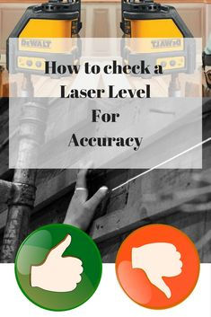 If you are DIY enthusiast or a PRO within the Construction Industry and need this tool to be calibrated in order to carry on with your projects ... then have a look at this quick step by step that you need to do in order to check if your laser it's accurate or not and take action from there!  Talk to you later ninjas!
