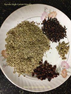 Kerala Garam Masala Ingredients