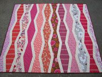 Elizabeth Hartman New Wave Quilts - Downloadable Pattern [1PA-Download-EH-NWQ] - $8.00 : Pink Chalk Fabrics is your online source for modern quilting cottons and sewing patterns., Cloth, Pattern + Tool for Modern Sewists