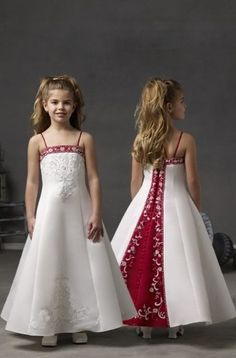 Flower girl dress - this is my daughters first pick, too cute!!