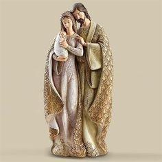 Night Divine Nativity Figurine by Roman