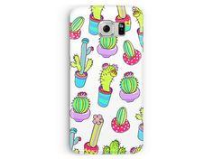 Cactus phone case for galaxy s6 edge