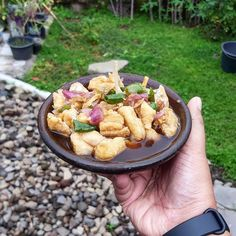15 Resep olahan tahu sederhana instagram Fruit Salad Recipes, Tofu Recipes, Cooking Recipes, Indonesian Food Traditional, Recipe Of The Day, Food To Make, Food And Drink, Vegetarian, Vegetables
