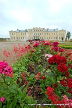 Rundale Palace, Latvia http://itsazooatthezoo.blogspot.com/