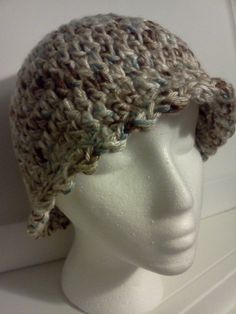 Ladies Hat in Country Cream by grammalea on Etsy, $15.00