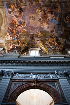 Sant'Ignazio Church in Rome,...