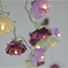 Led wild rose fairy lights in orchid pink wedding bedroom party led wild rose fairy lights in orchid pink wedding bedroom party decor pink string lights fairy rose and shabby mightylinksfo