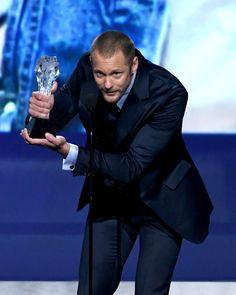 SkarsJoy — Actor Alexander Skarsgard accepts Best Supporting...