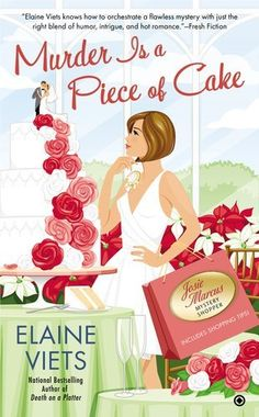 Murder is a Piece of Cake: Josie Marcus, Mystery Shopper by Elaine Viets, http://www.amazon.com/gp/product/0451238516/ref=cm_sw_r_pi_alp_lHUBqb19V89Z1