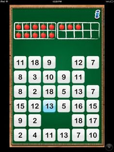 A great FREE app for practicing combinations of 5, 10, 20, 100 and more!