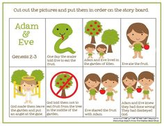 So a few weeks ago I shared my Creation Preschool Pack and today I'm back with my second one to share! This one picks up where the creation story ends and is all about Adam and Eve. Like I s…