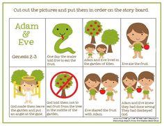 Adam & Eve Pre-K Pack (Free Printables!)