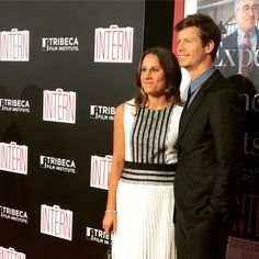 #Workaholics star #AndersHolm at the NY premiere of The Intern.