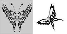 Simple butterflies tattoos designs tribal butterfly tattoo d Tribal Butterfly Tattoo, Butterfly Tattoo Cover Up, Butterfly Tattoo Meaning, Butterfly Tattoo Designs, Tattoo Designs Men, Tribal Tattoos, Word Tattoos, Finger Tattoos, Unique Tattoos