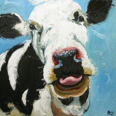 Funny Farm Cow!