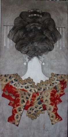 Connaissez vous ce peintre Christian de Laubadere ? J'aime beaucoup la finesse.