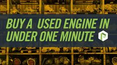 If you spend a lot of time buying used auto parts, you know how time-consuming the process can be. Thankfully, PartCycle is making it easier than ever to search millions of used car and truck parts, compare them to find the one that best suits your needs, and buy it online. All parts come with a 180-day warranty and free shipping.  See how quick and easy it can be to get your engine fixed at http://www.PartCycle.com