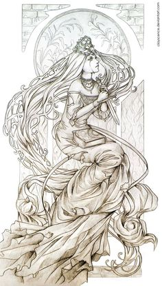 Facebook | Tumblr | Commission information | Society6 | YouTube This was a traditional drawing commission I did a couple weeks ago. I love art nouveau so this was an inspiring commission to make! i...