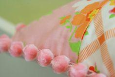 Nana Company | Pink Pom Pom Print Pillow