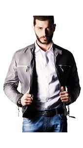 Modello Jacket C, impermeabile e dal taglio lineare, con tasche frontali a stiletto, la giacca di pelle è un capo universale che può essere indossato su una camicia sartoriale per valorizzare il taglio avvitato o anche su un pull più avvolgente.  Acquista comodamente dal nostro Shop Online