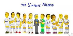 Real Madrid in Springfield :P The Simpsons, Real Madrid, Cool Pictures, Soccer, Lol, Nice Picture, Entertaining, Pitch, Sports