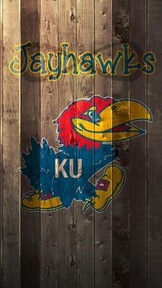 Jayhawks...this would be a good use for a pallet!