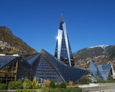 Caldea, a thermal spa and wellness resort in Andorra la Vella, Andorra Andorra Ski Resorts, Wellness Resort, Relax, Seville Spain, Historical Landmarks, Cities In Europe, Travel Europe, Tourist Information, Destinations