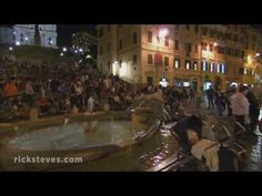 """~ Rome ~  Travel to Rome on a Rick Steves Best of Rome in 7 Days Tour:  http://www.ricksteves.com/tours/italy/rome. On Day 1 we'll enjoy an """"Am-I-really-here?"""" la dolce vita stroll through the heart of Rome, soaking up the city's evening ambiance."""