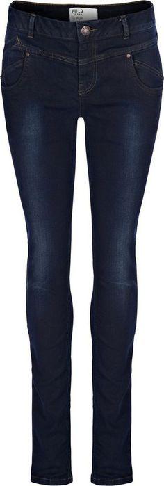 Pulz Jeans Skinny-fit-Jeans »Carmen Highwaist« für 99,95€. Jeans im Skinny-Fit, Aus stretch-elastischer Qualität, Modell CARMEN, Skinny-fit/ schmale Form bei OTTO