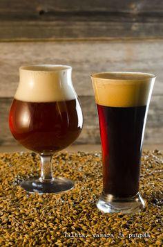 Hyvät ystävät - olutta sen olla pitää ~ Taltta, vasara ja puupää Beer, Tableware, Glass, Root Beer, Ale, Dinnerware, Drinkware, Tablewares, Corning Glass