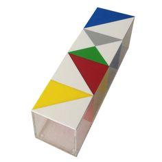 Small Puzzle Teabox By Sandra Macaron   #home #design #geometric #coffee #tea  #shopanewme