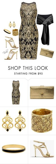 """""""Special Night"""" by pkoff ❤ liked on Polyvore featuring Notte by Marchesa, Alexander McQueen, Chanel, Halcyon Days and Halston Heritage"""