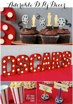 All kinds of party planning ideas from baby showers to oscars - Linen, Lace, & Love: events