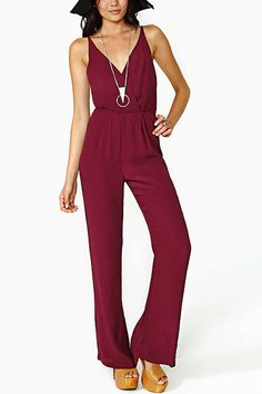b1250203dc Image 2 of CAPE JUMPSUIT WITH V-NECK from Zara