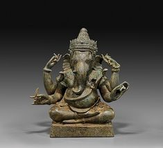Buy online, view images and see past prices for RARE SOUTHEAST ASIAN BRONZE GANESHA. Invaluable is the world's largest marketplace for art, antiques, and collectibles.