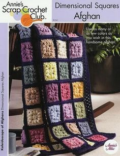 Puff stitch crochet Afghan, Annies Attic