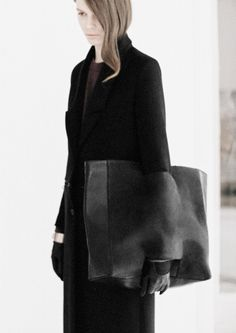 Oversized Clutch Bag - functional style; chic fashion details