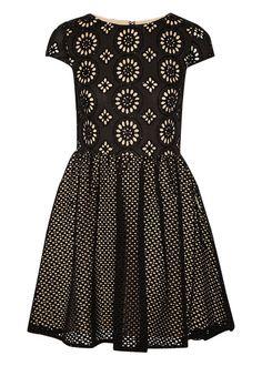 sonny embellished broderie dress