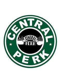 #Friends, Central perk, Starbucks logo