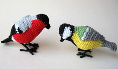Free Amigurumi Pattern: Bird Bullfinch