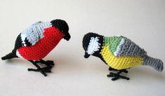 Free Amigurumi Pattern: Bird Bullfinch