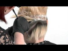 Wella Couture Blondes: Double Process - YouTube