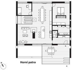 Děti mají v rodinném domě k dispozici celé podlaží– Novinky.cz Aarhus, Floor Plans, Flooring, How To Plan, Hardwood Floor, Floor Plan Drawing, Floor, House Floor Plans, Floors