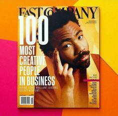 Cover of Fast Company Donald Glover Donald Glover, Cool Magazine, Magazine Covers, Magazine Layout Design, Childish Gambino, Renaissance Men, News Magazines, Graphic Design Branding, Creative People