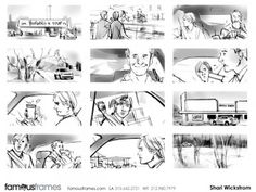 Storyboard Sample  Dessin  Storyboard    The OJays