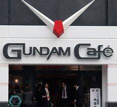 Gundam Cafe, Akihabara - Japan.