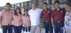 Acompañado por el director del Clúster, Jorge Serrano Jiménez, Chuayffet Chemor hizo un reconocimiento al Ejecutivo estatal por su cercanía con la comunidad universitaria.