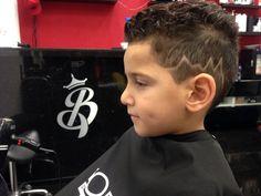 Little Boy new haircut by Melisz (barber_Licious)
