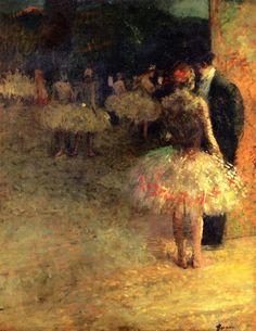 Le Dialogue, c. 1890 Jean-Louis Forain